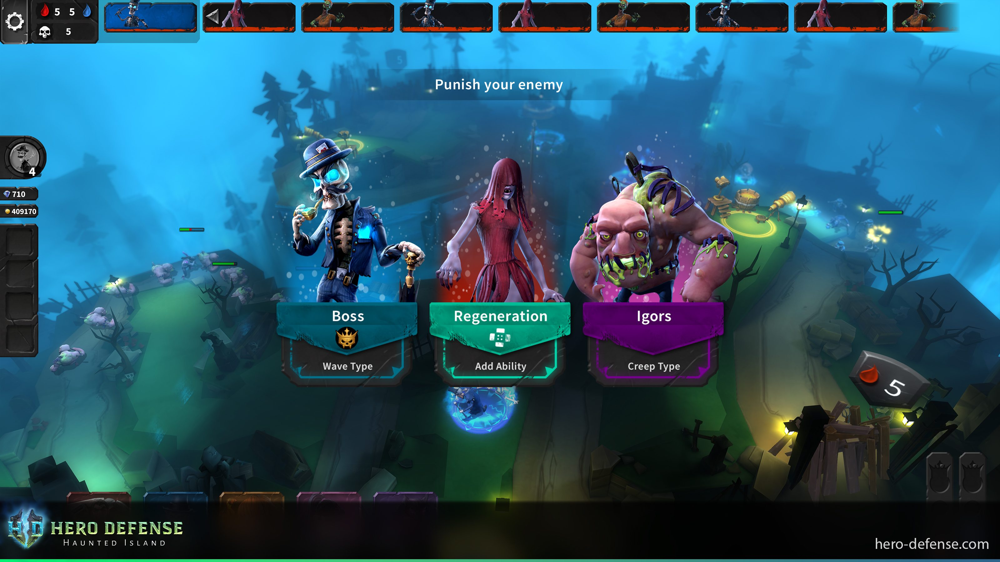 Hero Defense - Haunted Island Multiplayer Update Now Available