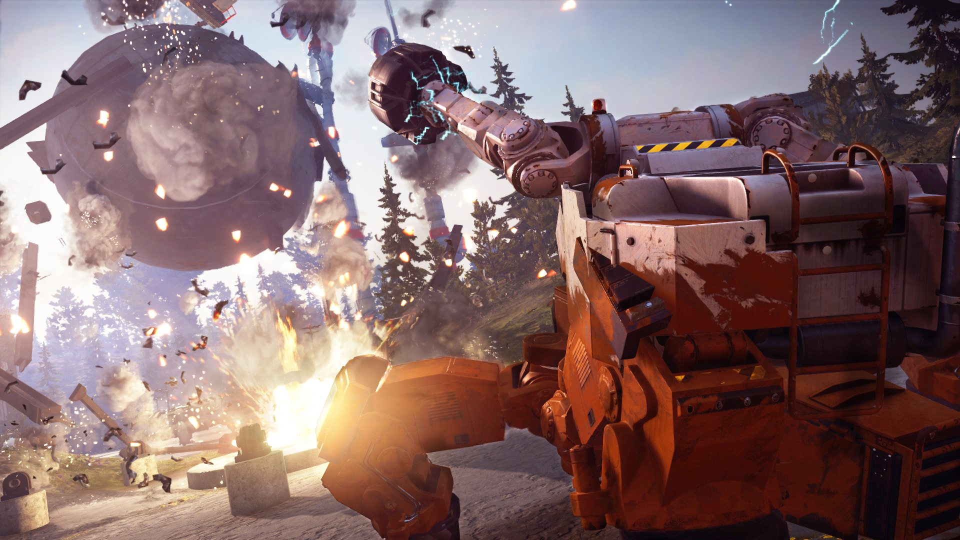 JUST CAUSE 3: MECH LAND ASSAULT Releasing June 3 for Expansion Pass Holders