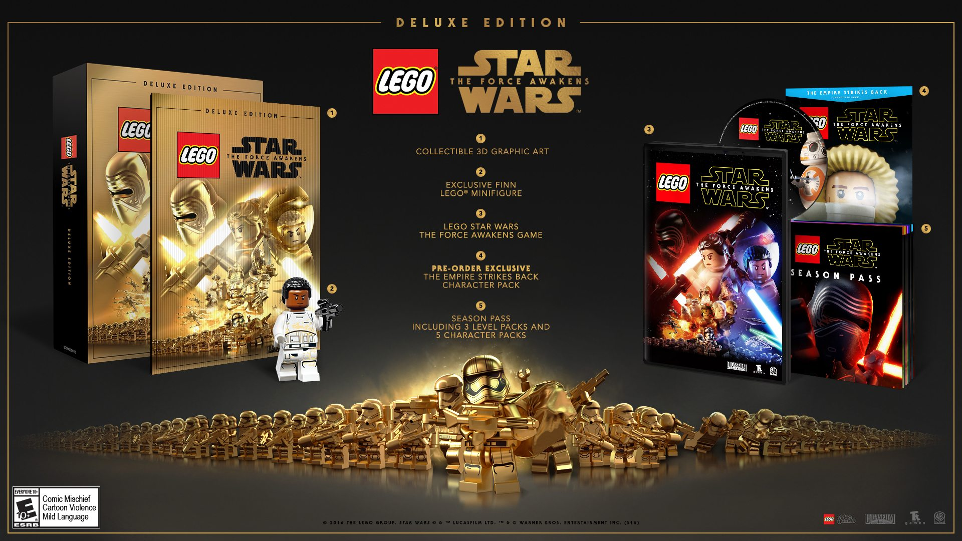 LEGO Star Wars: The Force Awakens Season Pass Details Announced