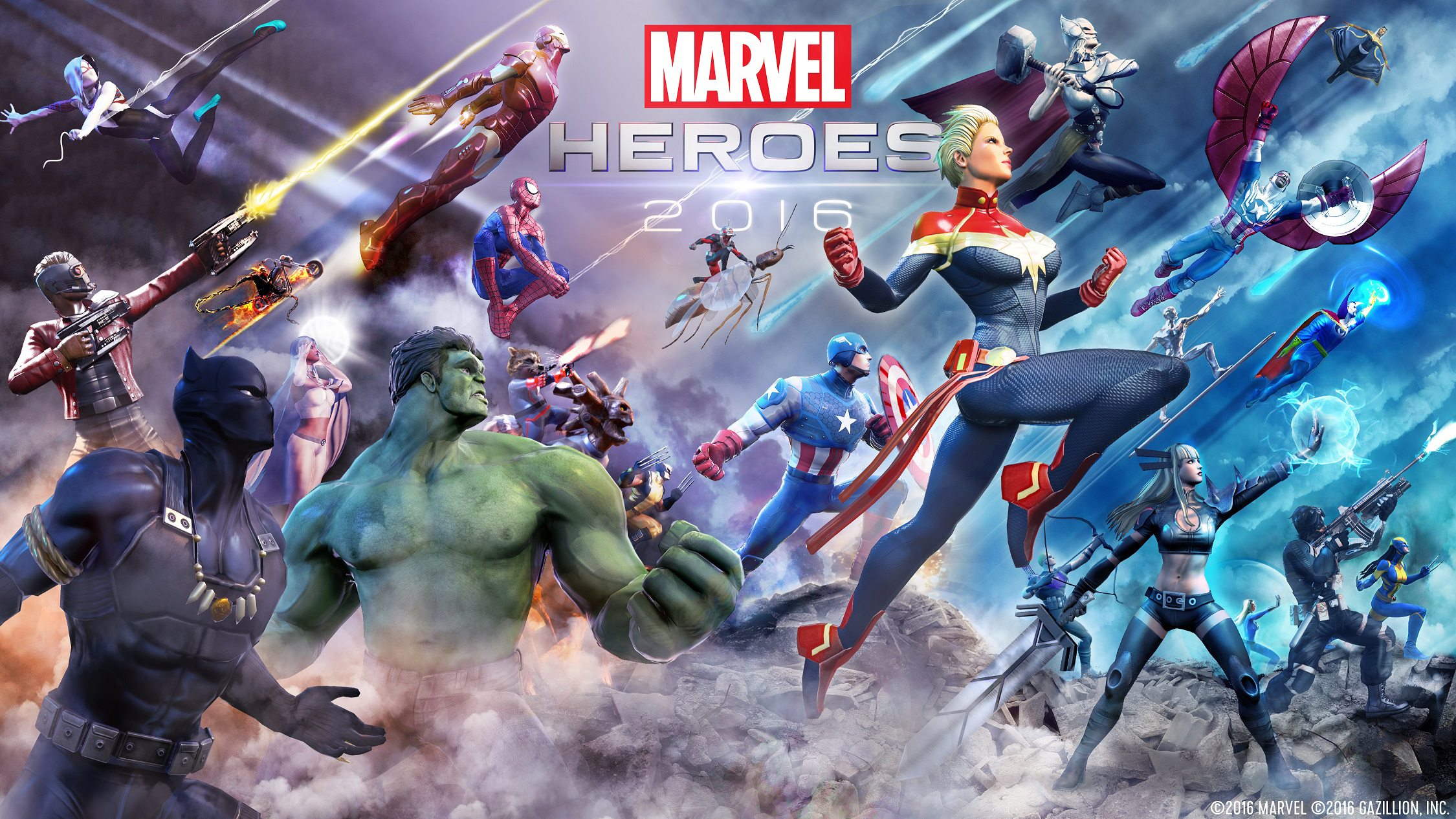 Ubitus Tech Allows for InstaPlay of Gazillion's Marvel Heroes 2016