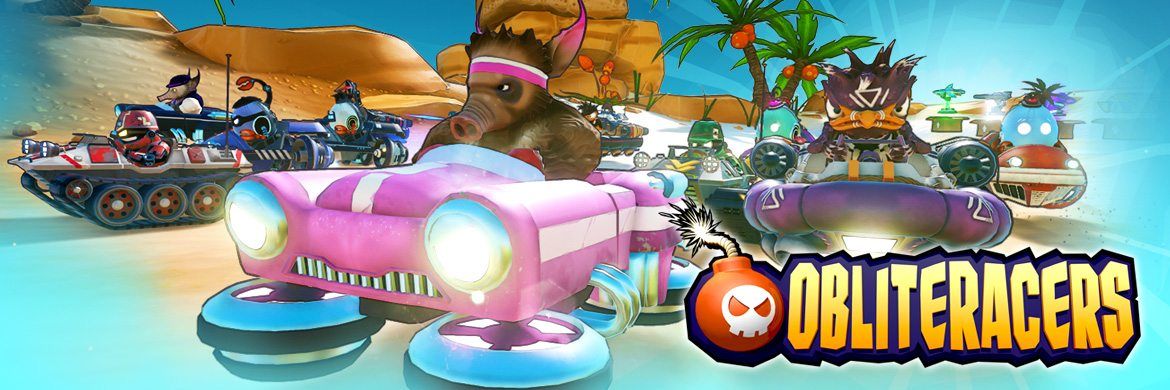 Award Winning Party Racer OBLITERACERS Heading to Xbox One & PS4 in July