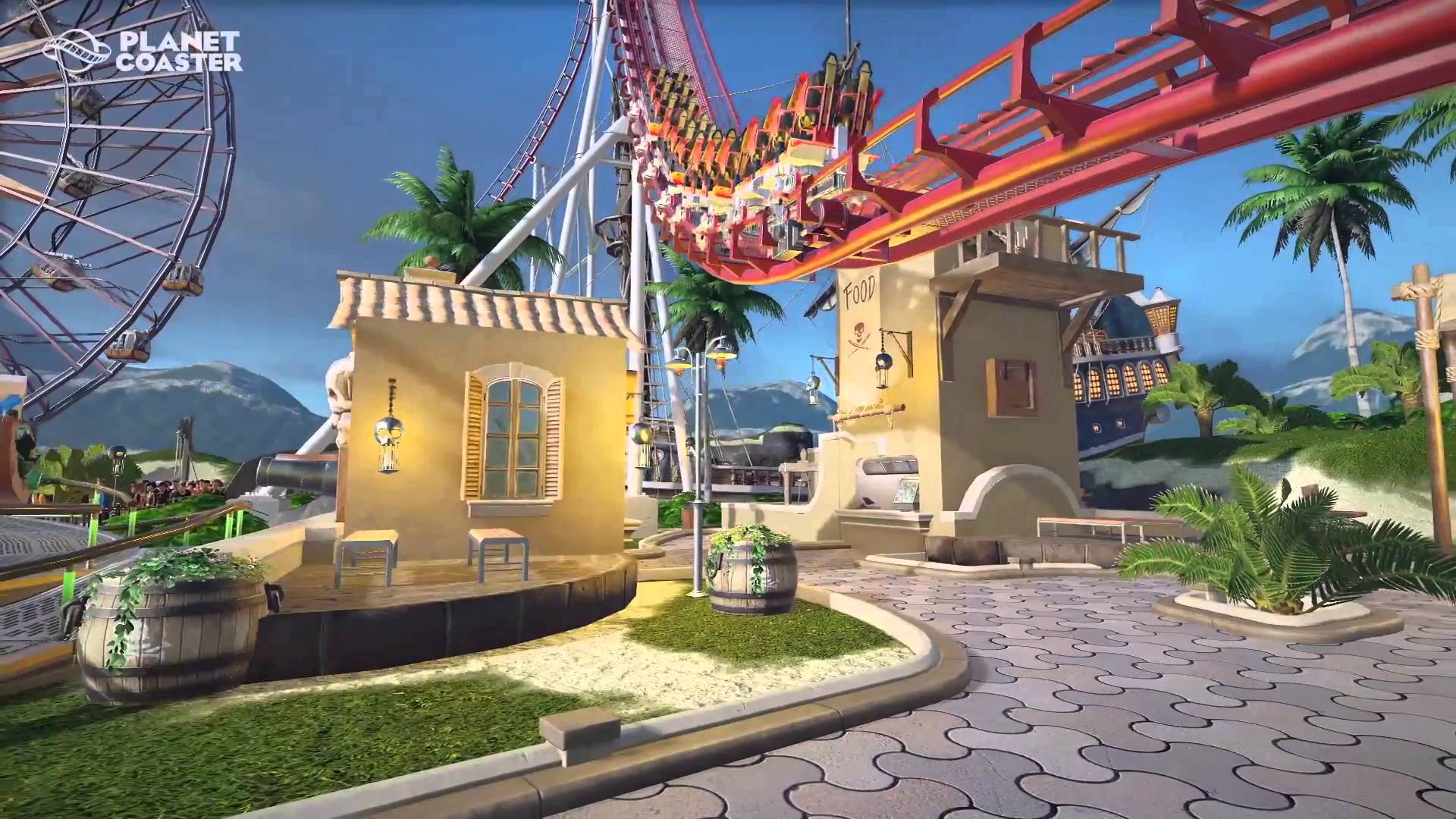 Planet Coaster Early-Bird Alpha 2 Now Available for PC
