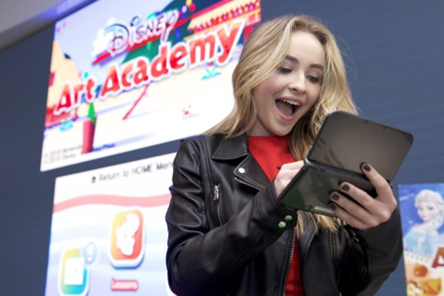Nintendo Hosts Disney Art Academy Preview Event at Nintendo NY Store with Disney Channel's Sabrina Carpenter