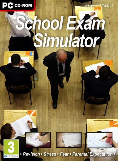 World's Worst PC Game SCHOOL EXAM SIMULATOR is a Runaway Success