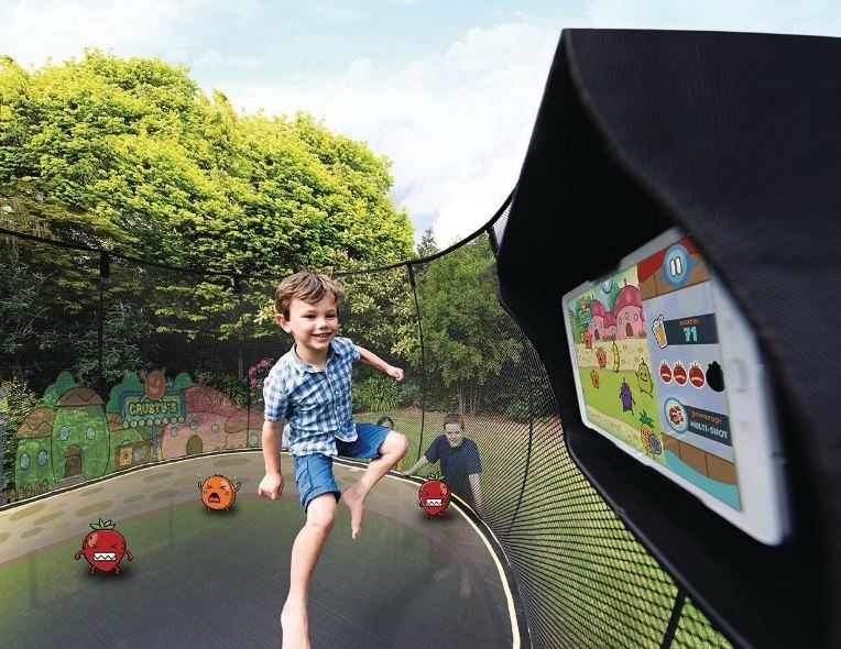 Springfree Trampoline Jumps into Outdoor Interactive Digital Gaming with tgoma