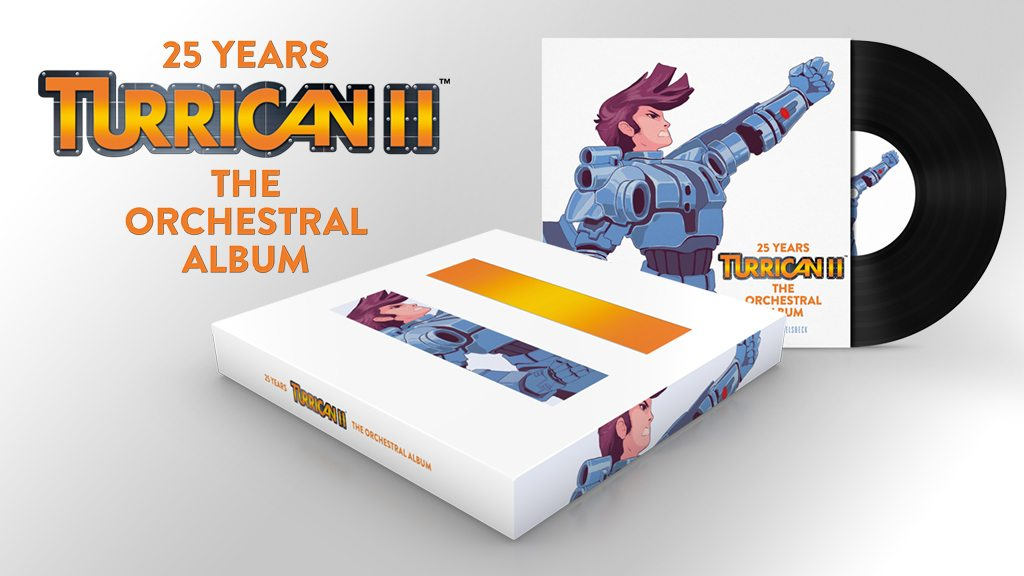 Turrican II Celebrates 25th Anniversary with Kickstarter for New Orchestral Album