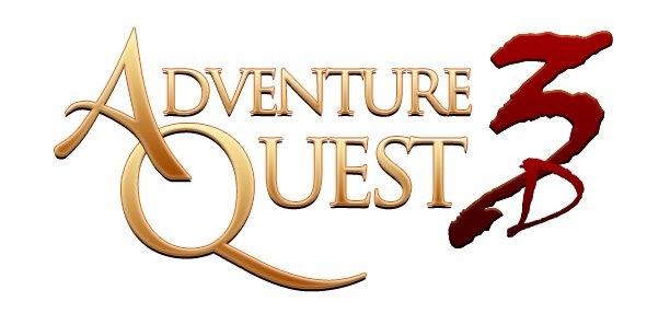 AdventureQuest 3D Logo Gaming Cypher