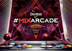 Doritos Storms E3 with the Doritos #MixArcade, the World's Largest Arcade Game Featuring a Mix of Hot Artists such as Steve Aoki, Wiz Khalifa and Big Boi (PRNewsFoto/Frito-Lay)