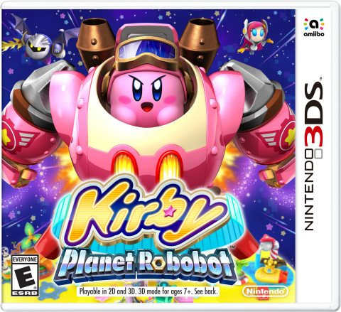 Take Back the Planet in Kirby's First Sci-Fi Action Adventure
