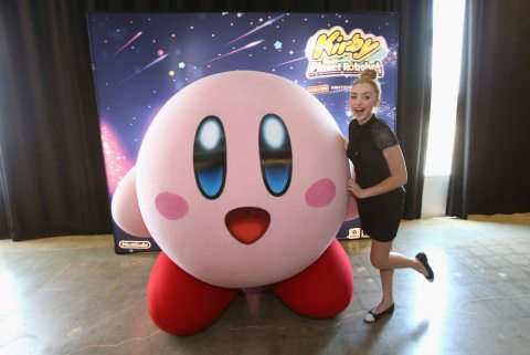 "CULVER CITY, CA - JUNE 22: In this photo provided by Nintendo of America, Peyton List from Disney's ""Bunk'd' who is starring in the upcoming feature ""The Thinning"" attends the Kirby: Planet Robobot event celebrating the game's launch at Smashbox Studios in Culver City, California, on June 22, 2016. In this new action-packed adventure, Kirby gets new abilities and transformations, such as flamethrower arms and buzz-saw hands. (Photo by Jonathan Leibson/Getty Images for Nintendo of America) *** Local Caption *** Peyton List"