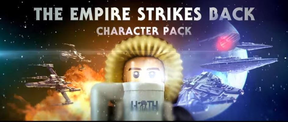 LEGO Star Wars: The Force Awakens The Empire Strikes Back Character Pack Vignette