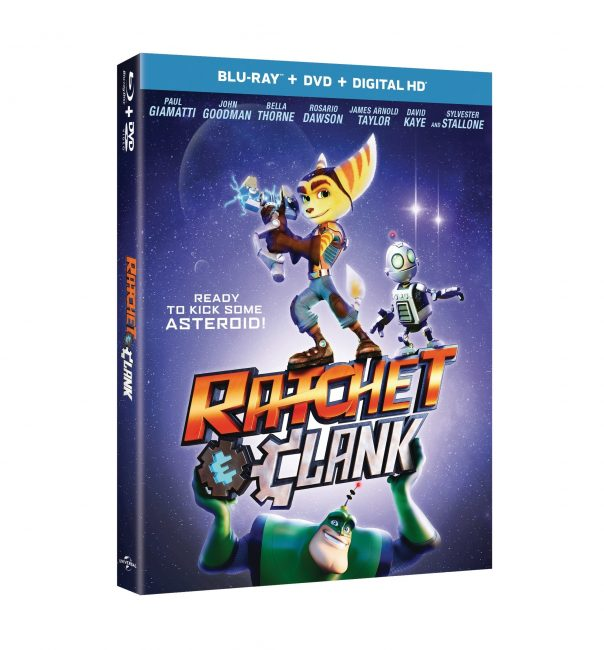 Iconic Video Game Blasts off as All-New CG Animated Movie RATCHET & CLANK