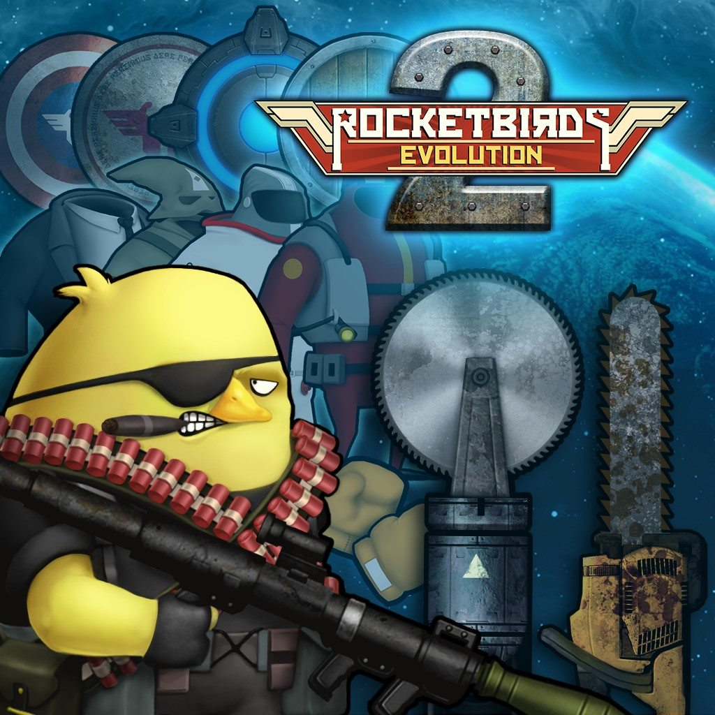 Rocketbirds 2: Evolution New Patch, Update & DLC Now Available