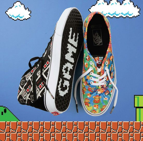 Vans and Nintendo Team Up for the Ultimate Adventure in Footwear and Apparel
