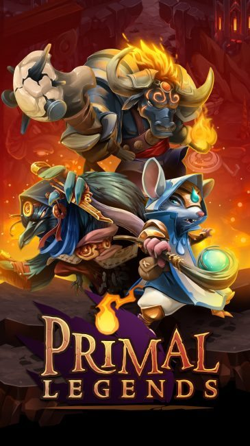 Primal Legends Heading Soon to Mobile Devices