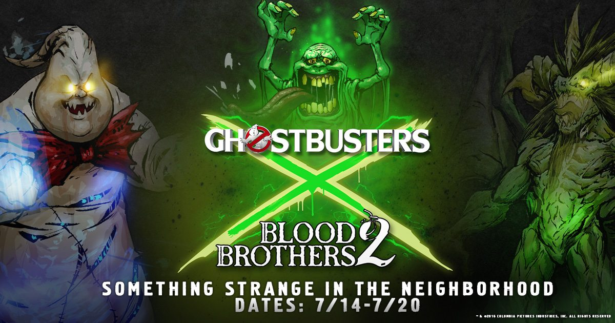 Blood Brothers 2 Mobile RPG Gets Invaded by The Ghostbusters