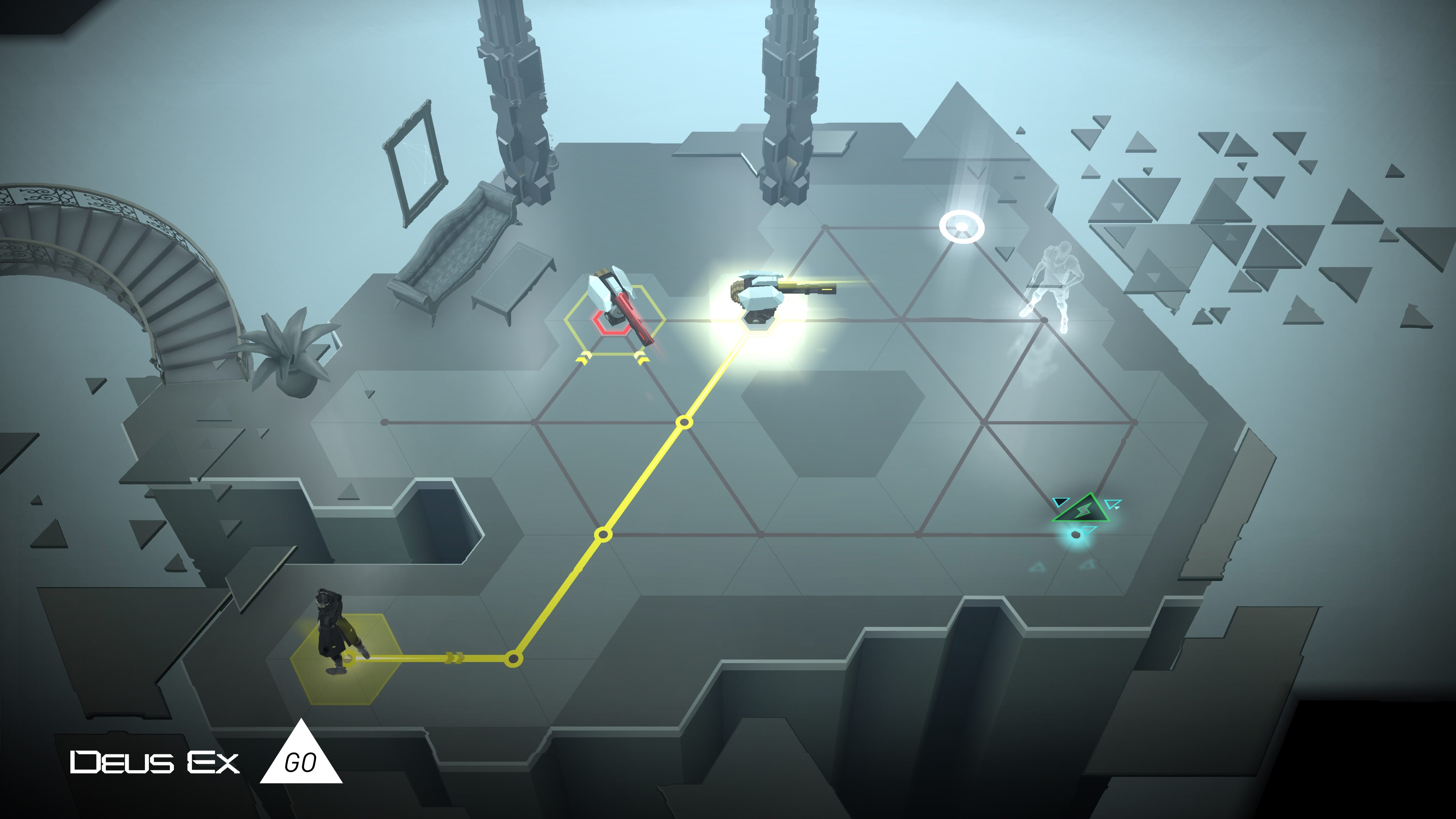 Deus Ex GO Review for iOS