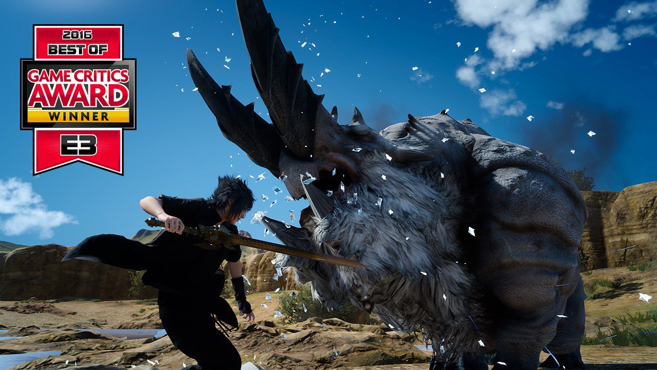 FINAL FANTASY XV Wins E3 2016 Game Critics Awards BEST RPG
