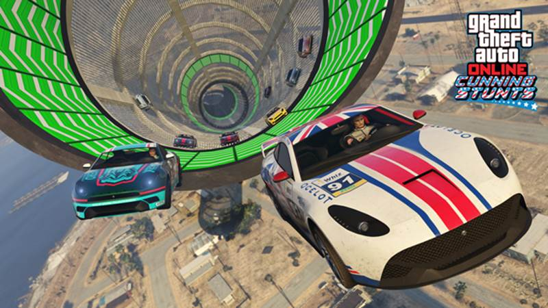 GTA Online Cunning Stunts Adds New Stunt Races and Vehicles