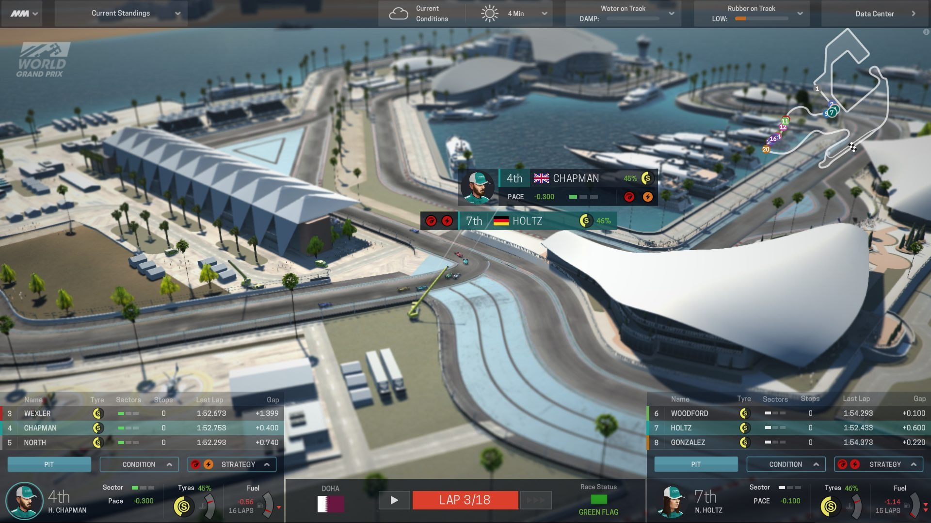 MOTORSPORT MANAGER Master the Tech Video Released by SEGA