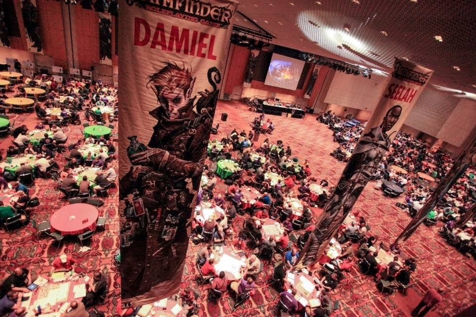 Paizo Announces Hundreds of Pathfinder Events for Gen Con 2016