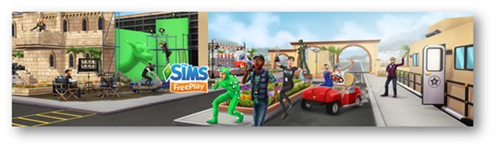 SIMS FREEPLAY Movie Star Update Now Available