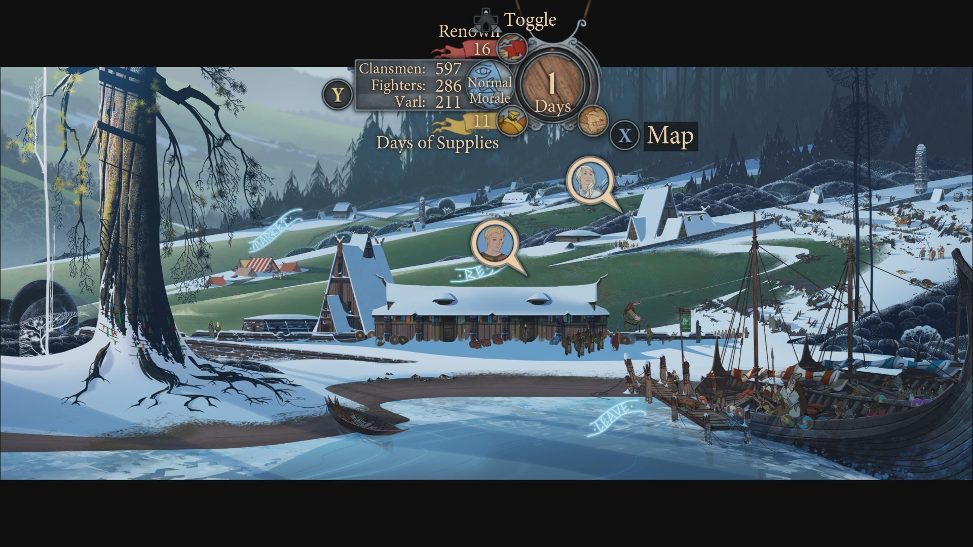 BANNER SAGA 2 Now Available on Xbox One
