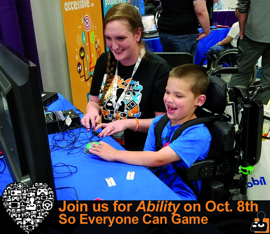 AbleGamers Charity Empowers Disabled Gamers, Launches Inaugural Ability Fundraising Event