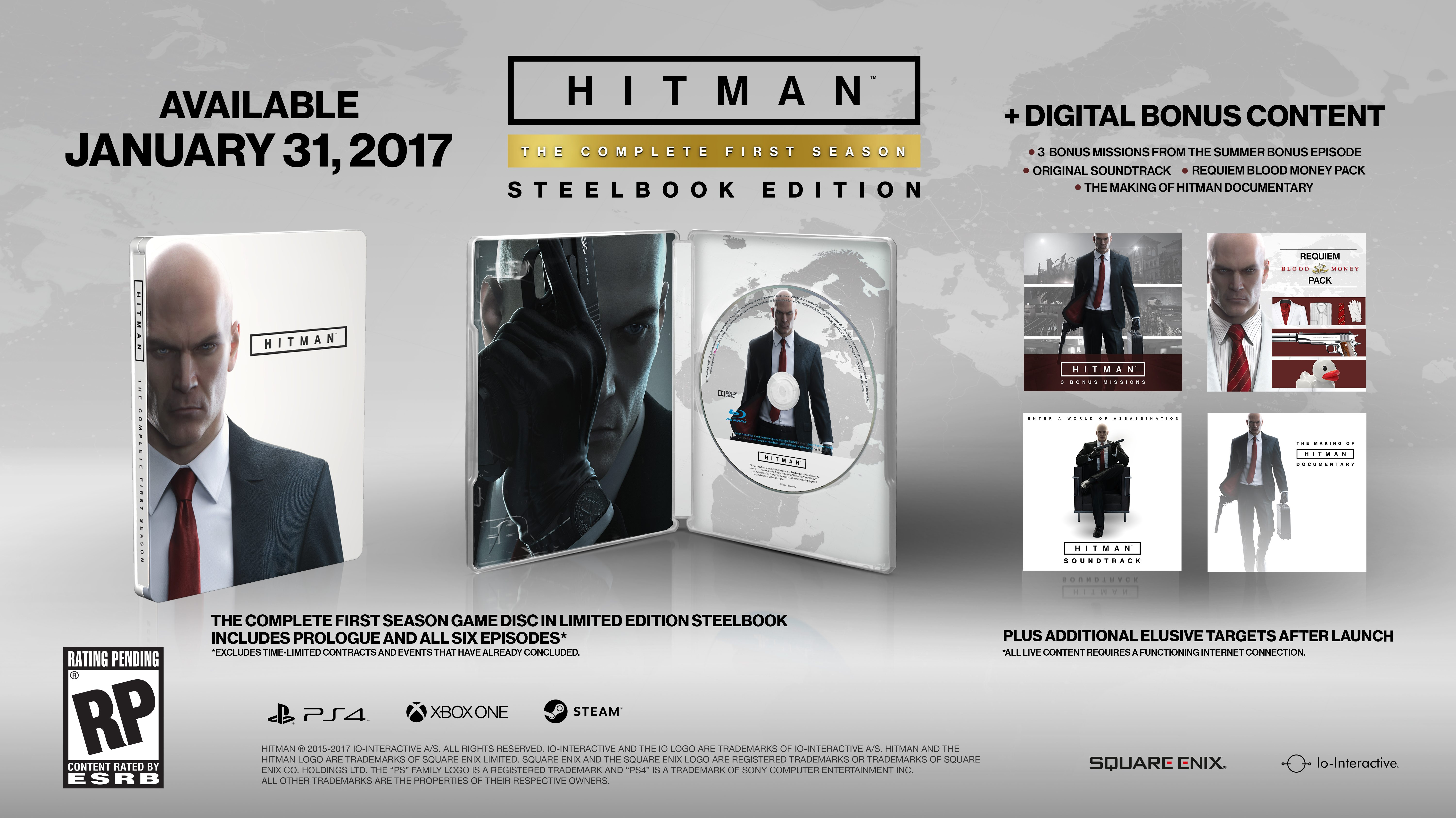HITMAN: The Complete First Season Full Details and Disc Release Date Confirmed