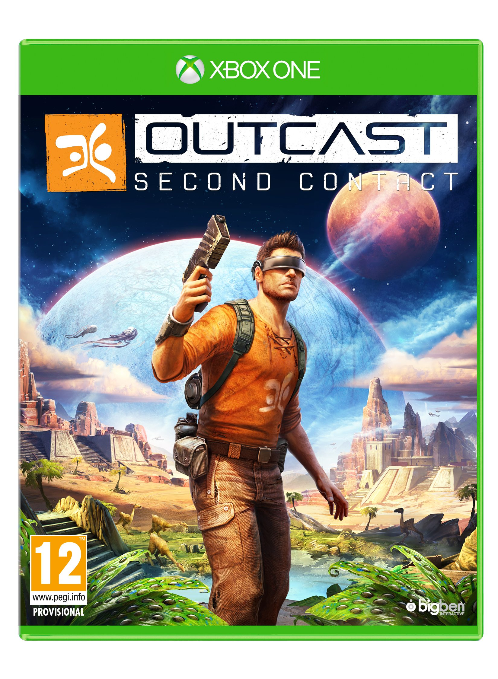 Outcast - Second Contact Reveals First Images