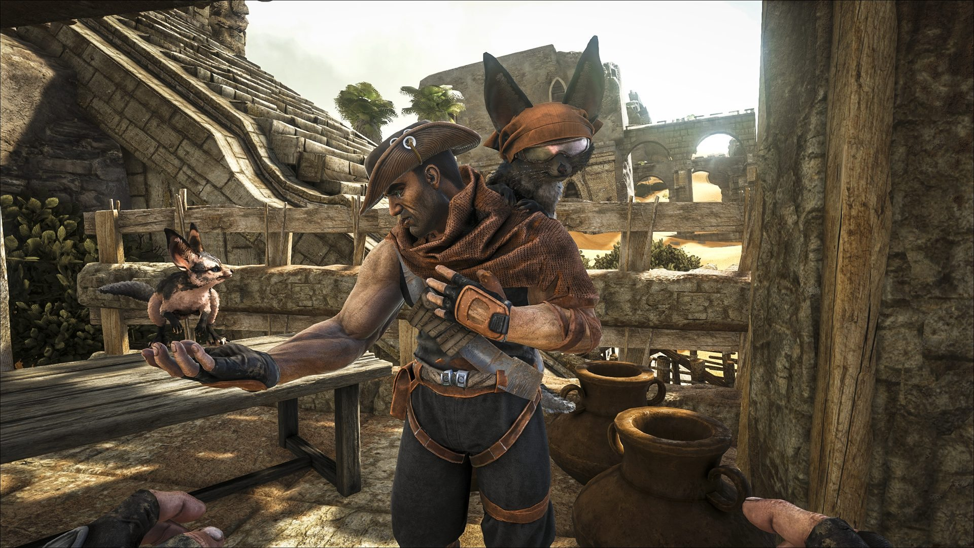 ARK: Survival Evolved Scorched Earth Expansion Pack Launches Today on Xbox One & Steam
