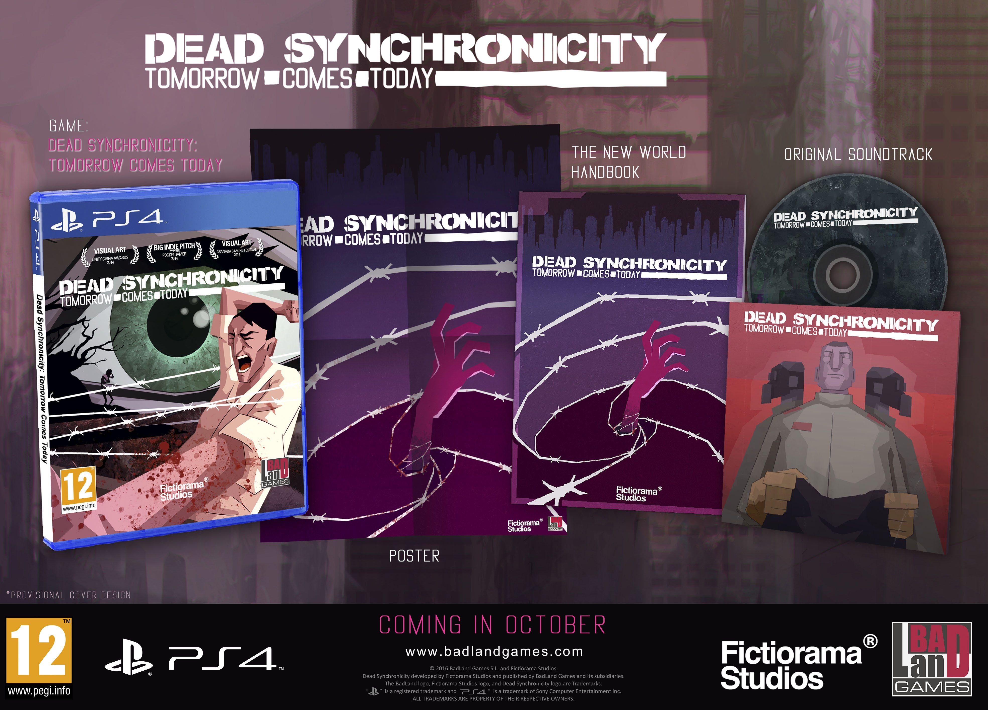 DEAD SYNCHRONICITY: Tomorrow Comes Today Now Available on PS4