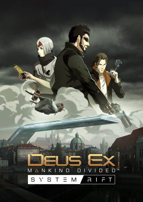 Frank Pritchard Returns in System Rift - the First Story DLC for Deus Ex: Mankind Divided