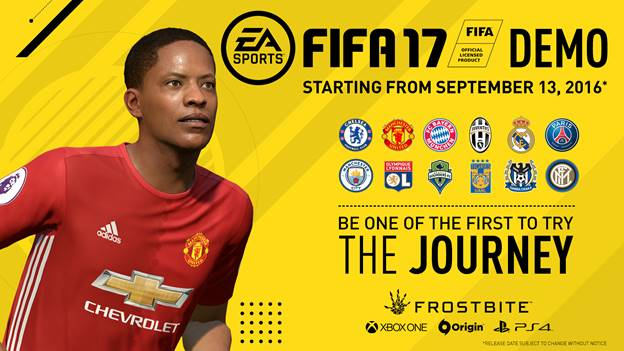 EA SPORTS FIFA 17 Demo Available Now