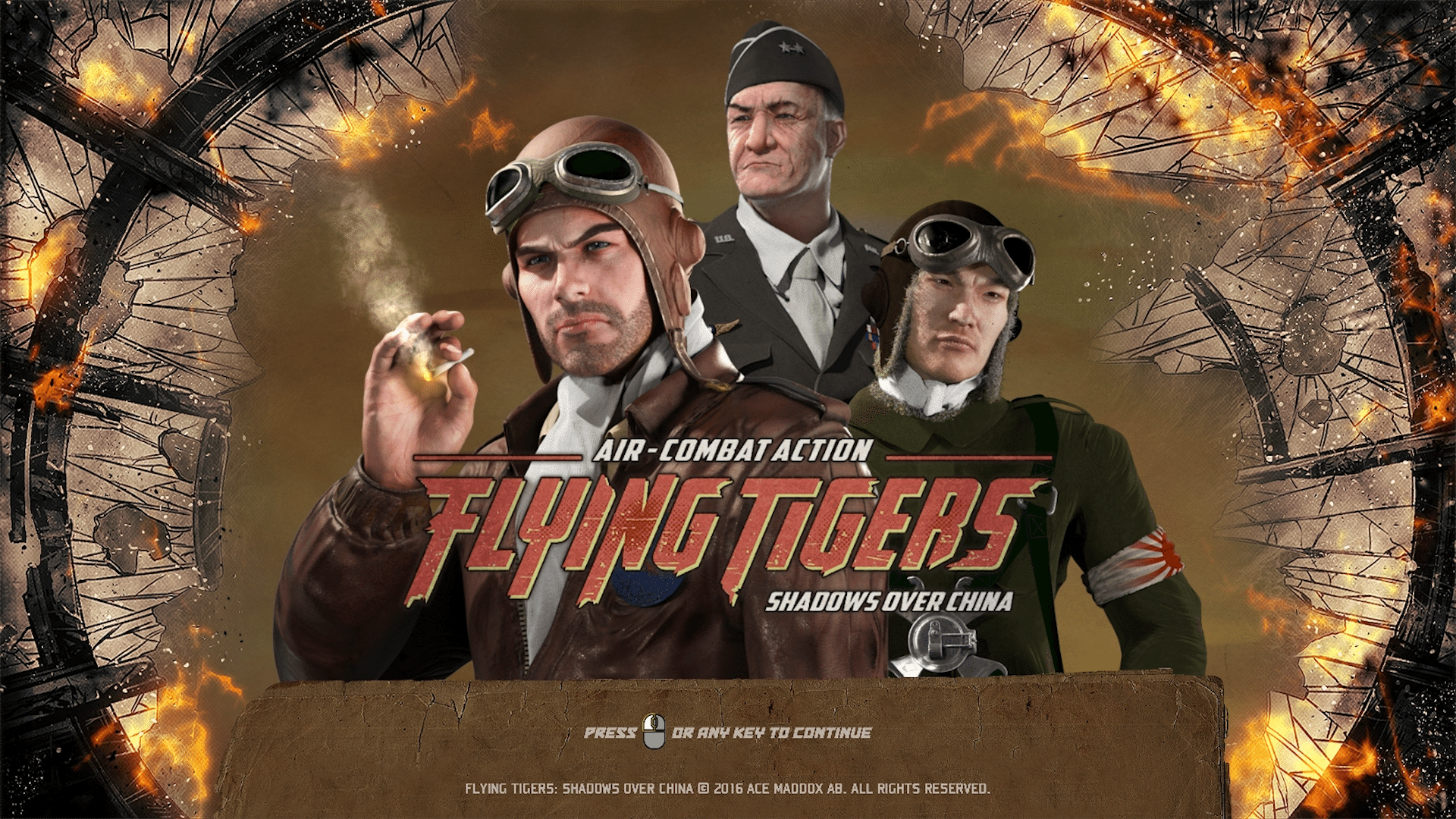 Flying Tigers: Shadows Over China Steam Cockpit/Campaign Update Now Live