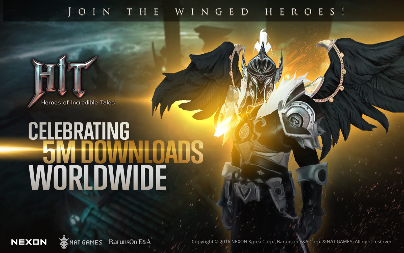 HIT by Nexon Celebrating 5 Million Downloads Worldwide