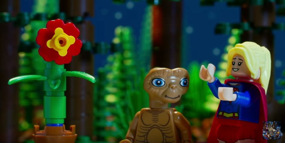 LEGO Dimensions New Video Features Supergirl Introducing E.T.