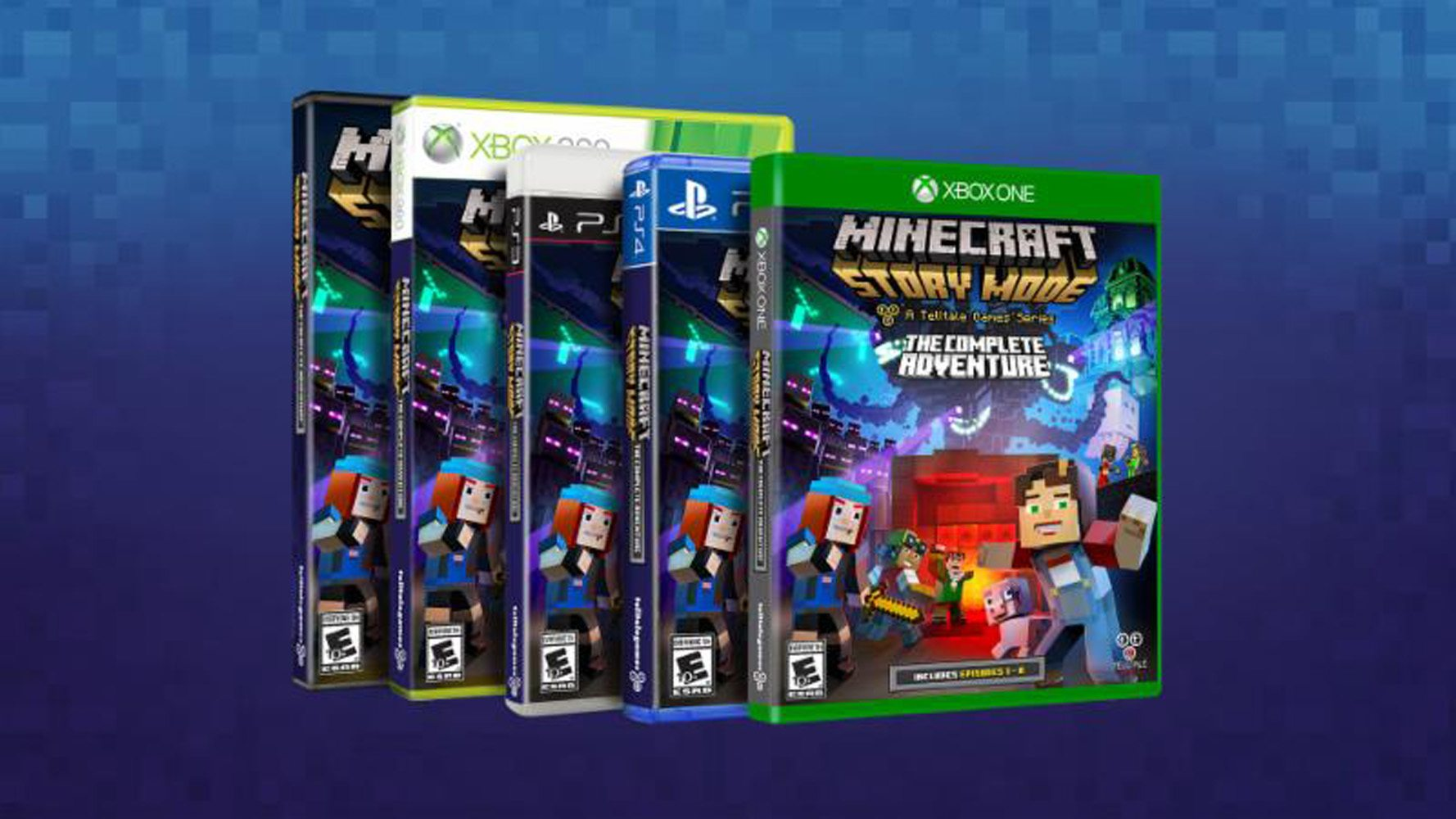 Minecraft: Story Mode - The Complete Adventure Available Now at Retail