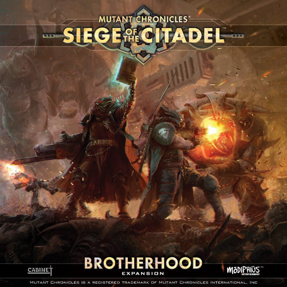 Mutant Chronicles: Siege of the Citadel Brotherhood Expansion Announced