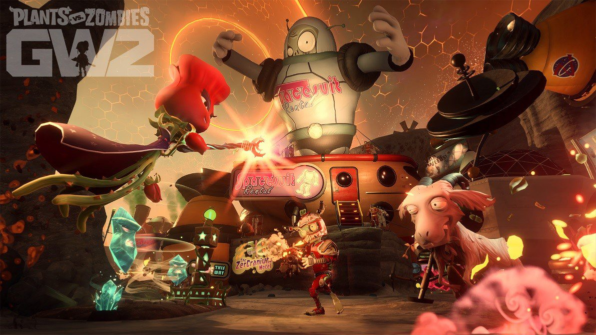 Plants vs. Zombies Garden Warfare 2 Now Available in the Vault in EA and Origin Access