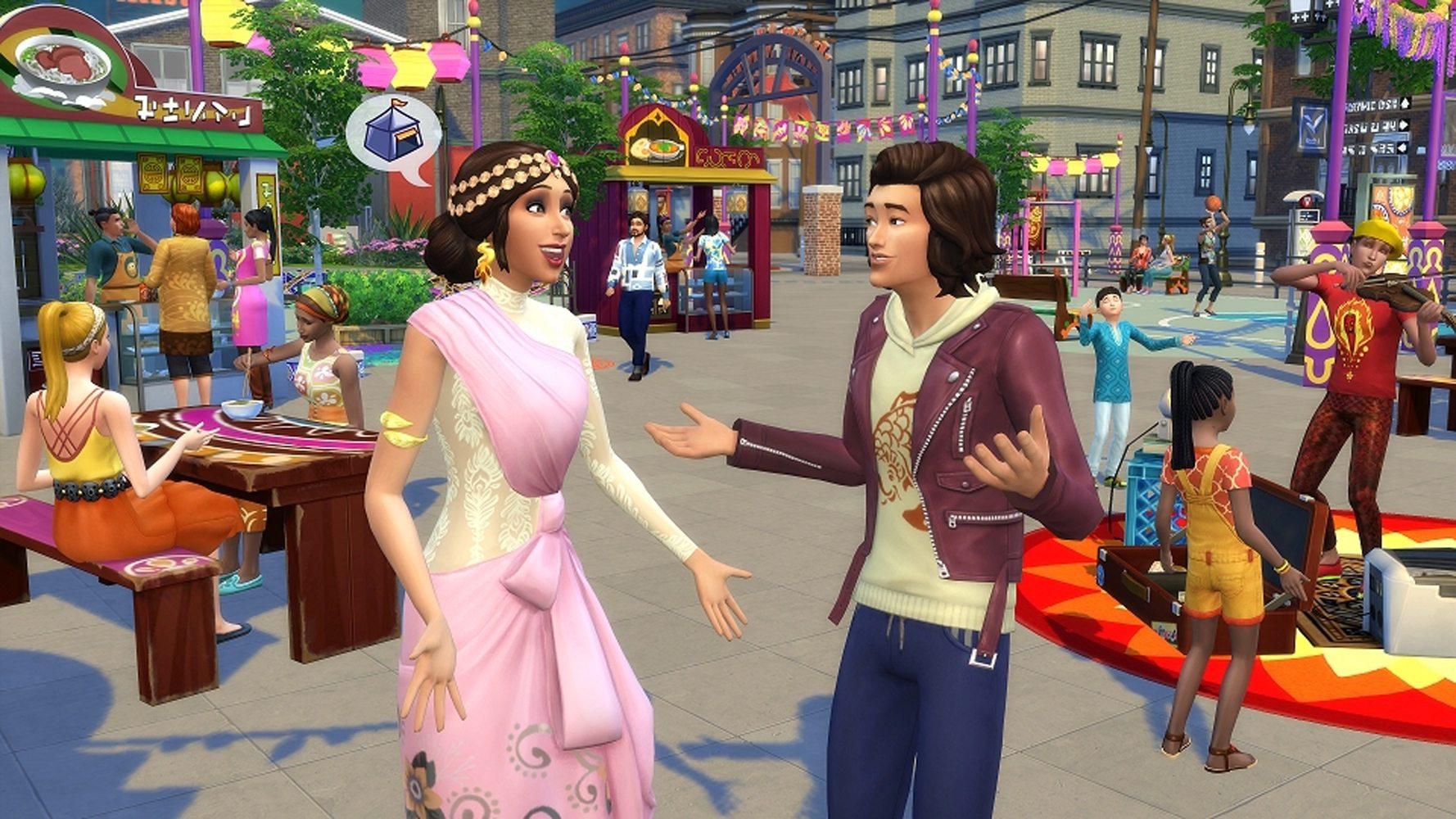The Sims 4 New City Living Expansion Pack Announced by EA