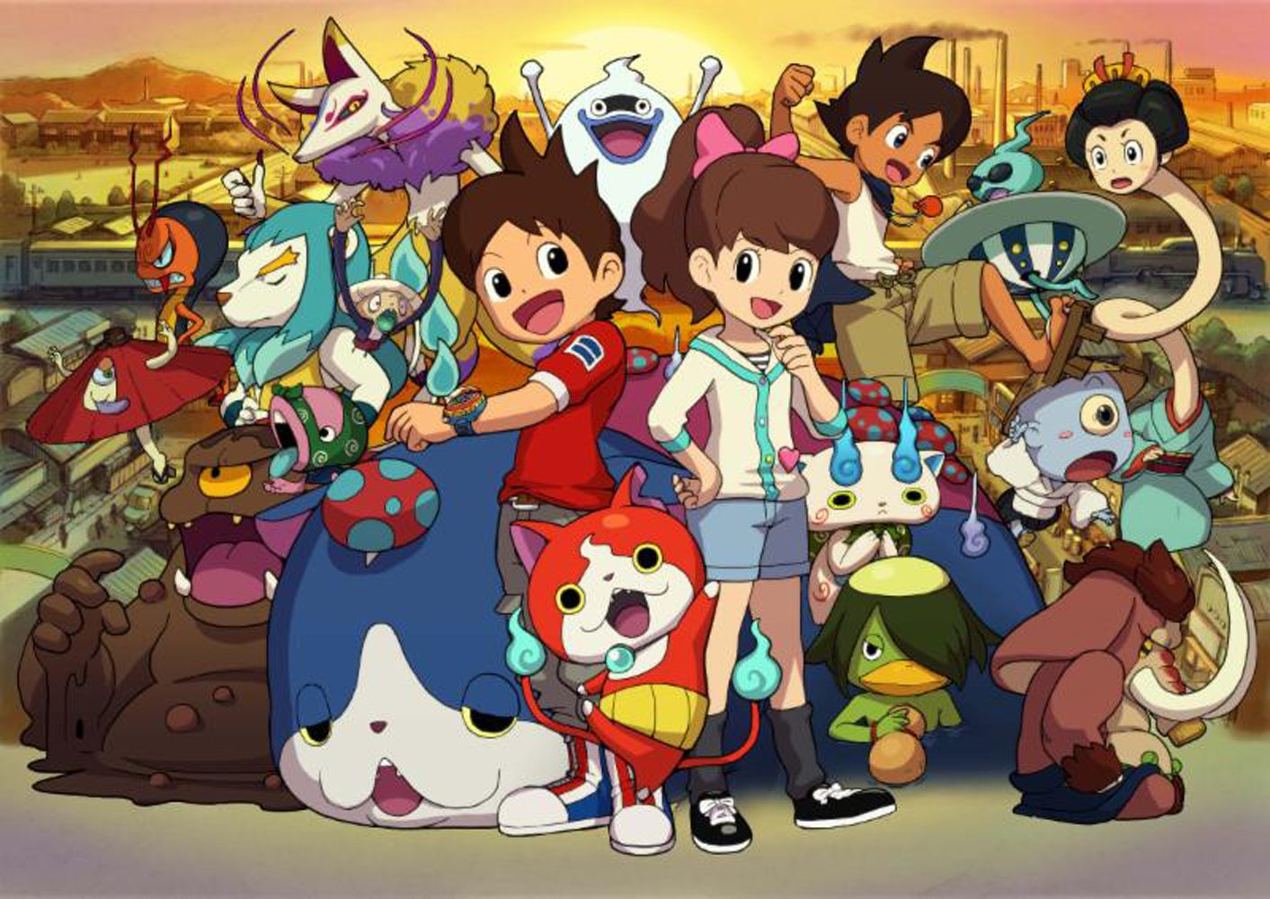 yo-kai-watch-2-gaming-cypherYO-KAI WATCH The Movie Arrives in Theaters Nationwide this Saturday