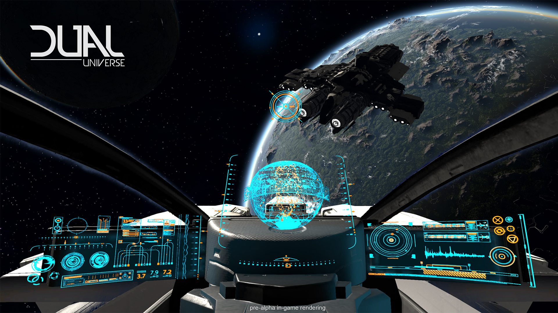 DUAL UNIVERSE Most Ambitious Sci-Fi Sandbox MMO Needs Your Support on Kickstarter