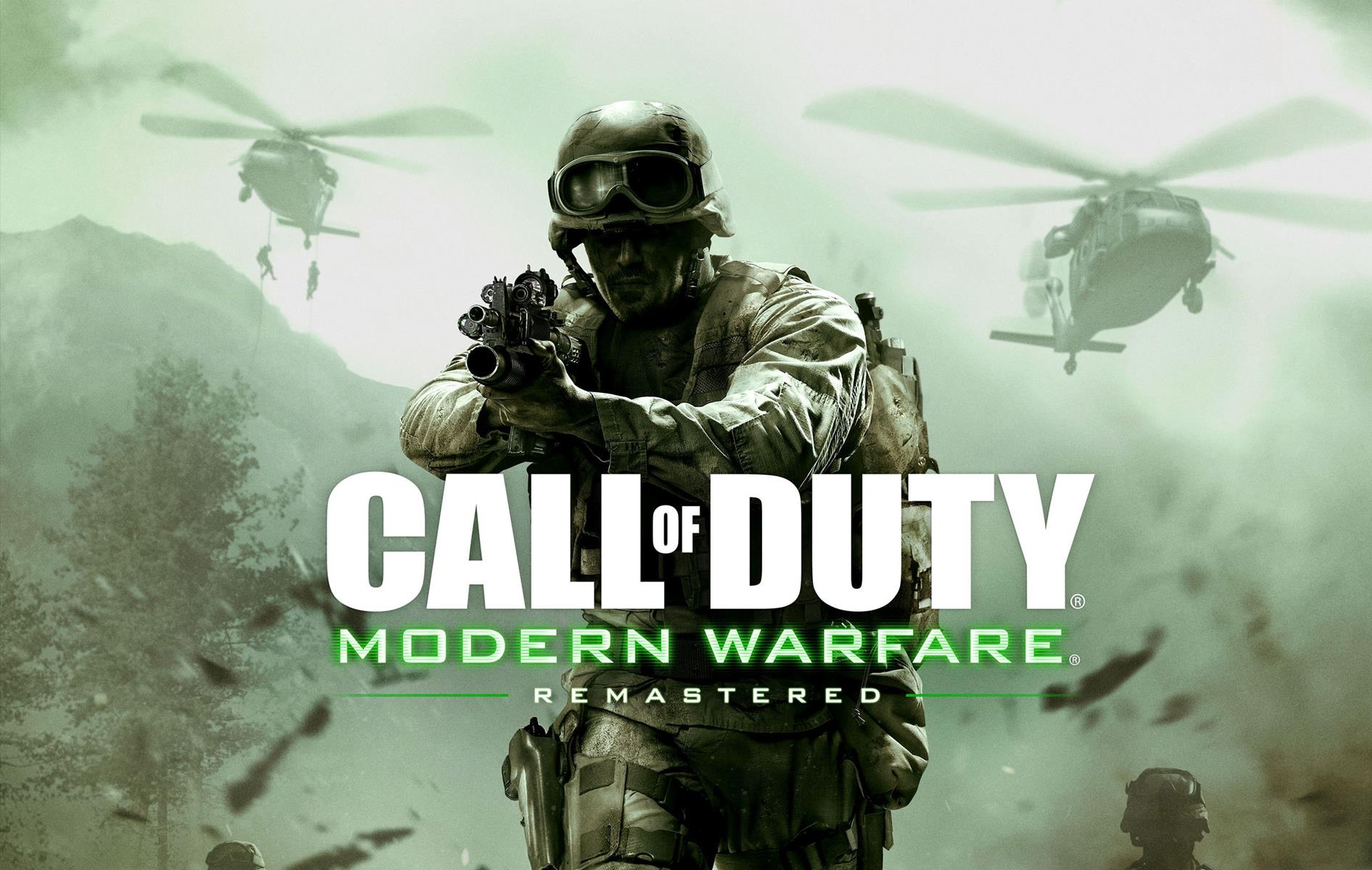Call of Duty: Modern Warfare Remastered Campaign Now Available First on PS4