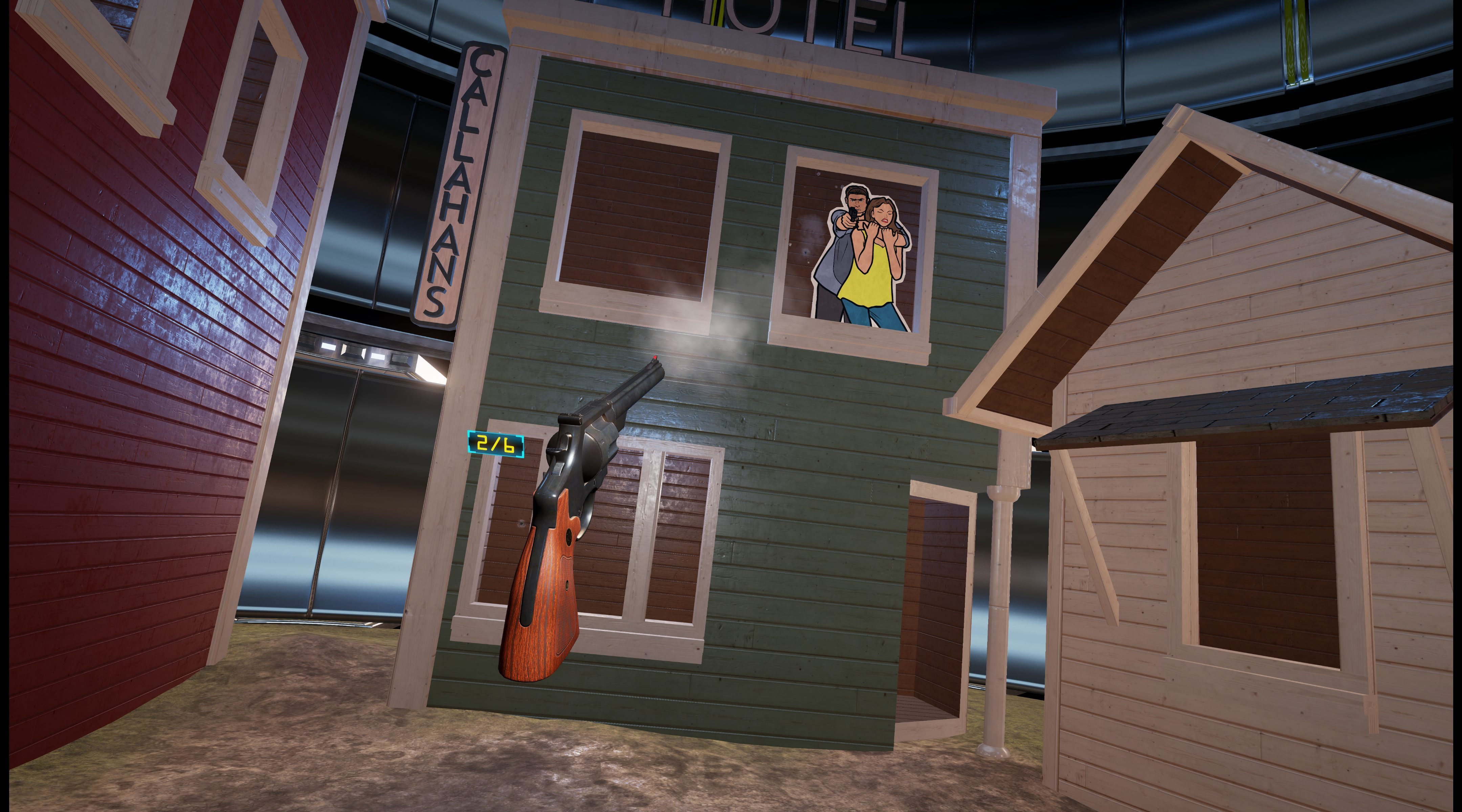 Lethal VR Announced by Team17 and Three Fields Entertainment