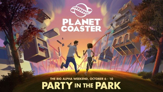Planet Coaster Alpha Weekend Begins Later Today