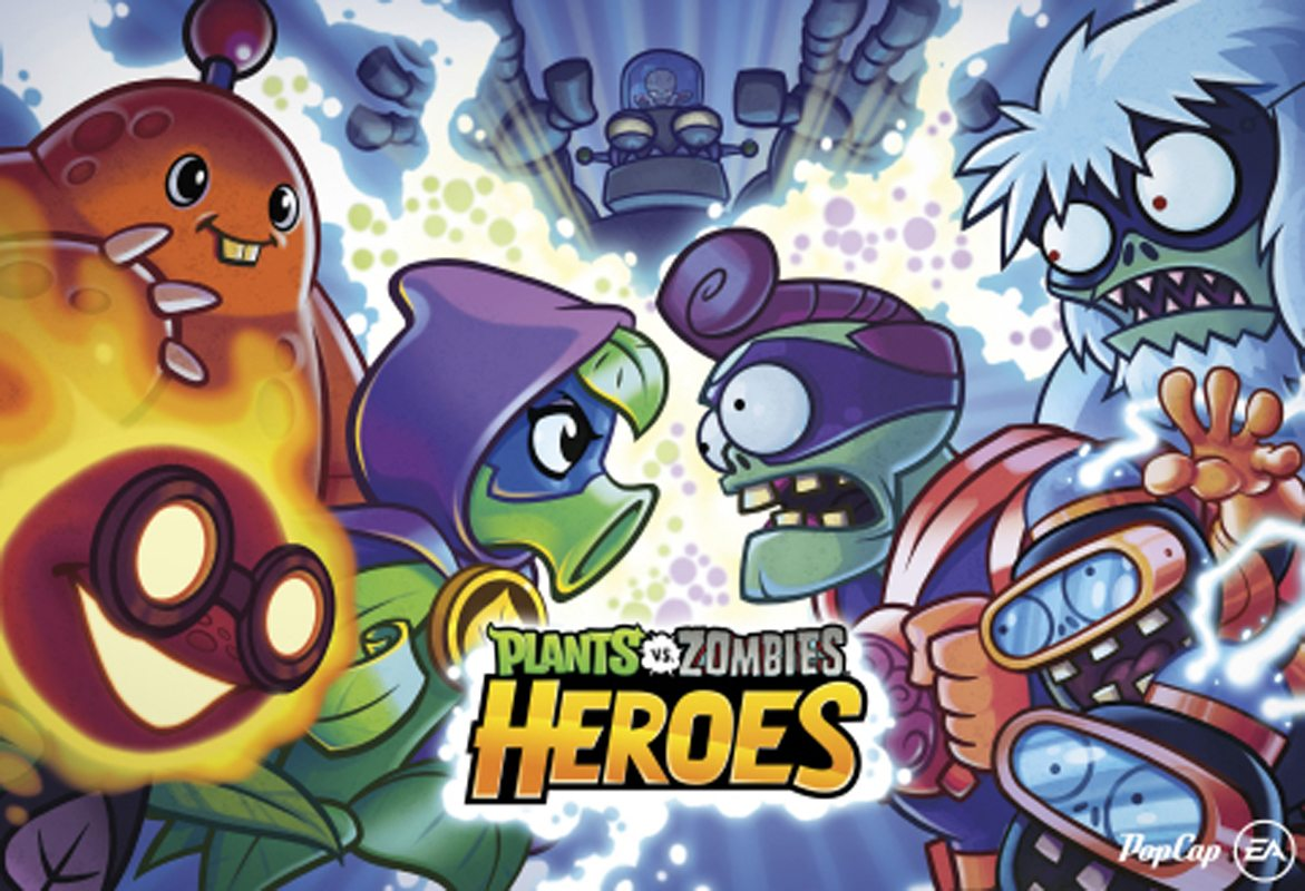 Plants vs. Zombies Heroes Now Available Worldwide for Mobile Devices