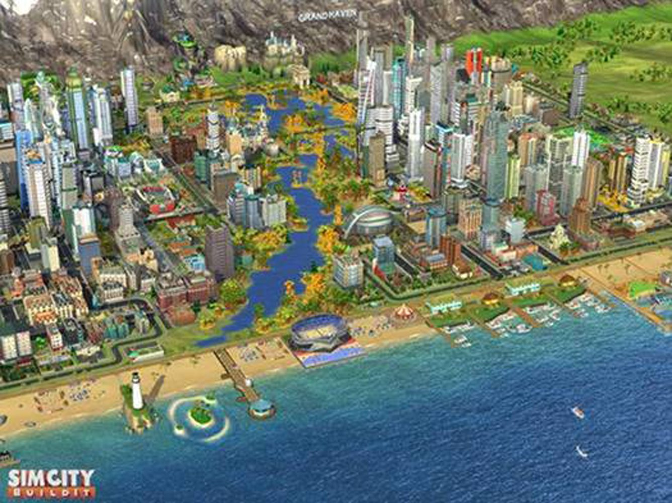 SimCity BuildIt Adds Lakes, Rivers, and Forests