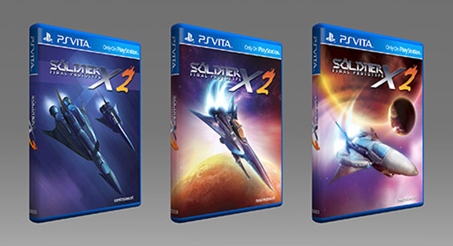 Soldner-X 2 PS Vita Physical Asia Version Announced