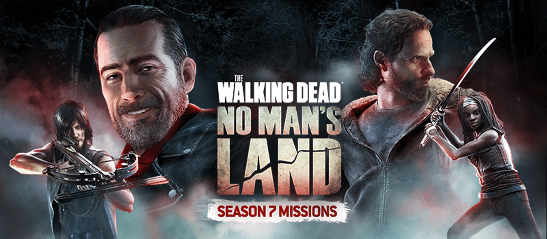 The Walking Dead: No Man's Land Season 7 Missions Now Available